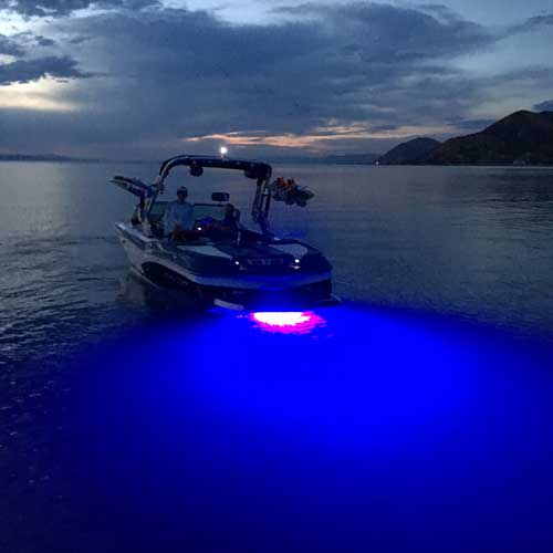 2013 mastercraft x30 with pipeline underwater lights blue led's, Reel Combo