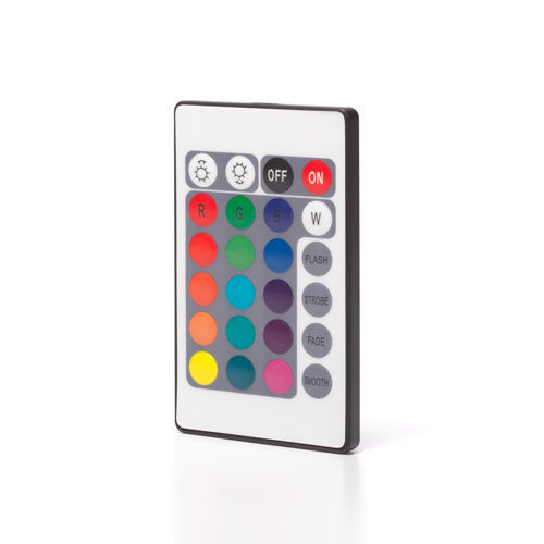 Replacement remote control for multi-color RGBW lights