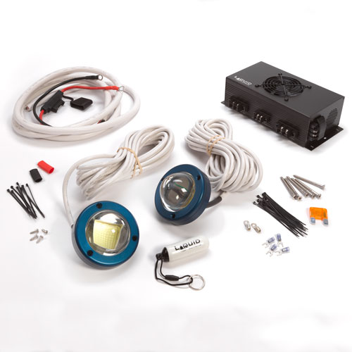 "Surfrider package includes first underwater light equipped with ""Lumen-Boost""™ Technology"